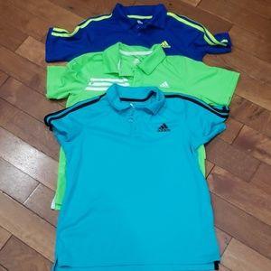 Adidas sport polo shirts